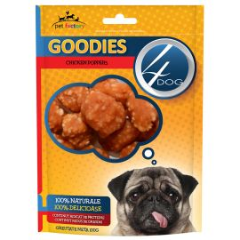 Recompense 4DOG Goodies Chicken Poppers 100g