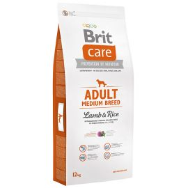 BRIT CARE Adult Medium Breed Miel si Orez 12kg