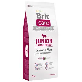 BRIT CARE Junior Large Breed Miel si Orez 12kg