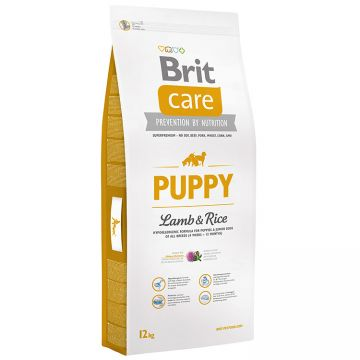 Hrana Uscata Caini BRIT CARE Puppy All Breed Miel si Orez 12kg