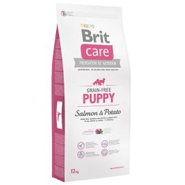 BRIT CARE Grain Free Puppy Somon si Cartofi 12kg