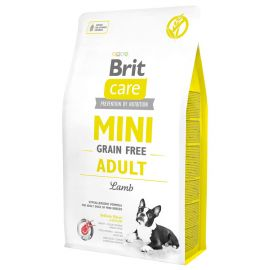 Hrana Uscata Caini BRIT CARE Grain Free Mini Adult Lamb 7kg
