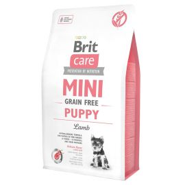 Hrana Uscata Caini BRIT CARE Grain Free Mini Puppy Lamb 7kg