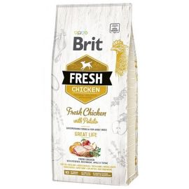 Hrana Uscata Caini BRIT FRESH Chicken and Potato Adult 12kg