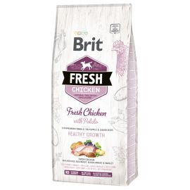 Hrana Uscata Caini BRIT FRESH Chicken and Potato Puppy 12kg