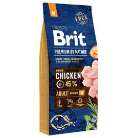 BRIT PREMIUM by Nature Caine Adult Talie Medie 15kg