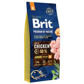 BRIT PREMIUM by Nature Caine Junior Talie Medie 15kg