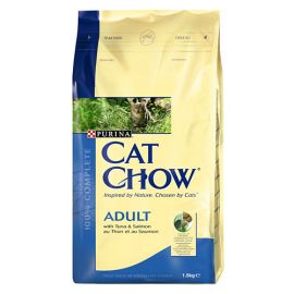CAT CHOW Pisica Adult Ton si Somon 15kg