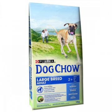 DOG CHOW Caine Adult Large Breed Curcan 14kg