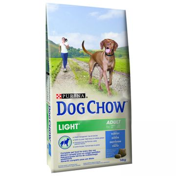 Hrana Uscata Caini DOG CHOW Adult Light Curcan 14kg