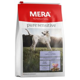 Hrana Uscata Caini MERA Pure Sensitive Adult Medium/Maxi Miel si Orez 12,5kg + Recompense Goodies 12x100g CADOU
