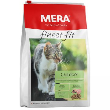 Hrana Pisici MERA Finest Fit Outdoor 10kg + Container CADOU