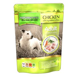 Pachet NATURES MENU Dog Adult Pui 3x300g