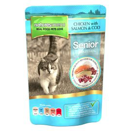 Pachet NATURES MENU Cat Senior 6x100g