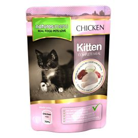 Pachet NATURES MENU Kitten 6x100g
