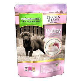Pachet NATURES MENU Dog Junior 3x300g
