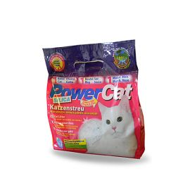 Nisip Silicatic Pisici POWERCAT Energy 5L