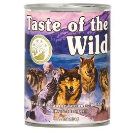 Conserva TASTE OF THE WILD Wetlands 390g