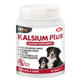 VETIQ Kalsium Plus 60 Tablete